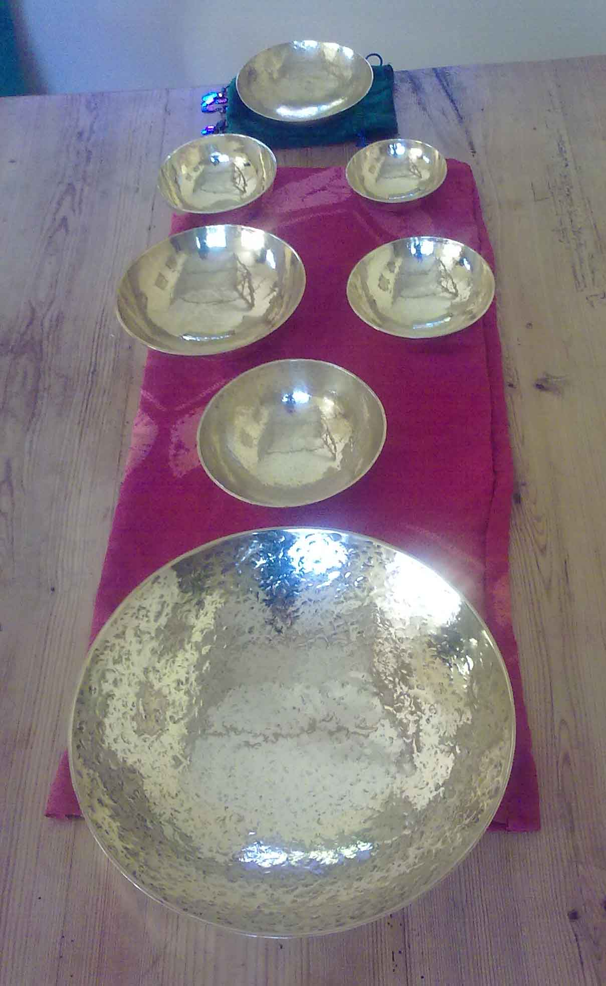 Custom Made Singing Bowls